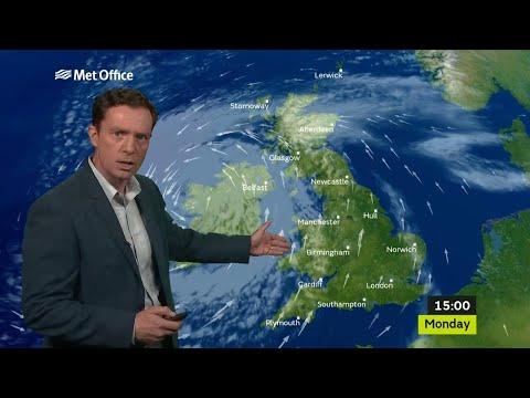 Monday Mid-morning Forecast 16/10/17