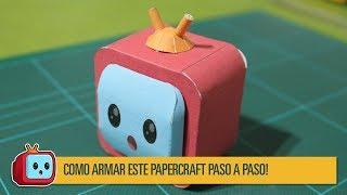 Armando el papercraft catódico!