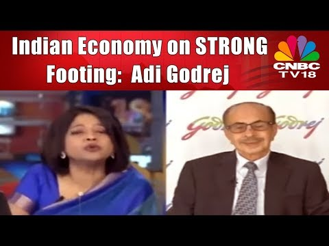 Indian Economy on STRONG Footing; See Double-digit Growth for FMCG biz: Adi Godrej