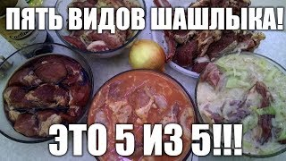 Лучший шашлык. Рецепт настоящего шашлыка из баранины и свинины. Как приготовить вкусный шашлык