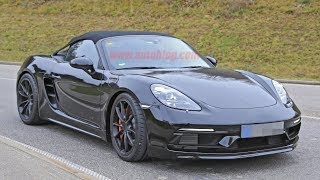 New,Porsche 718 Boxster Spyder caught without covers,Review