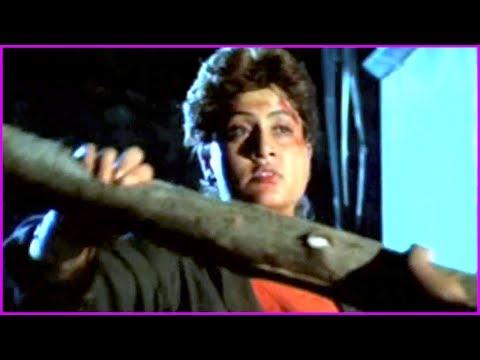 Vijayashanthi Extraordinaty Fight Scene | Street Fighter Telugu Super Hit Movie | Jayasudha - YouTube