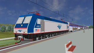 OpenBVE HD EXCLUSIVE: What If Amtrak Bought The ALP-46 and Beefed It Up? (Amtrak ALP-46 Download)