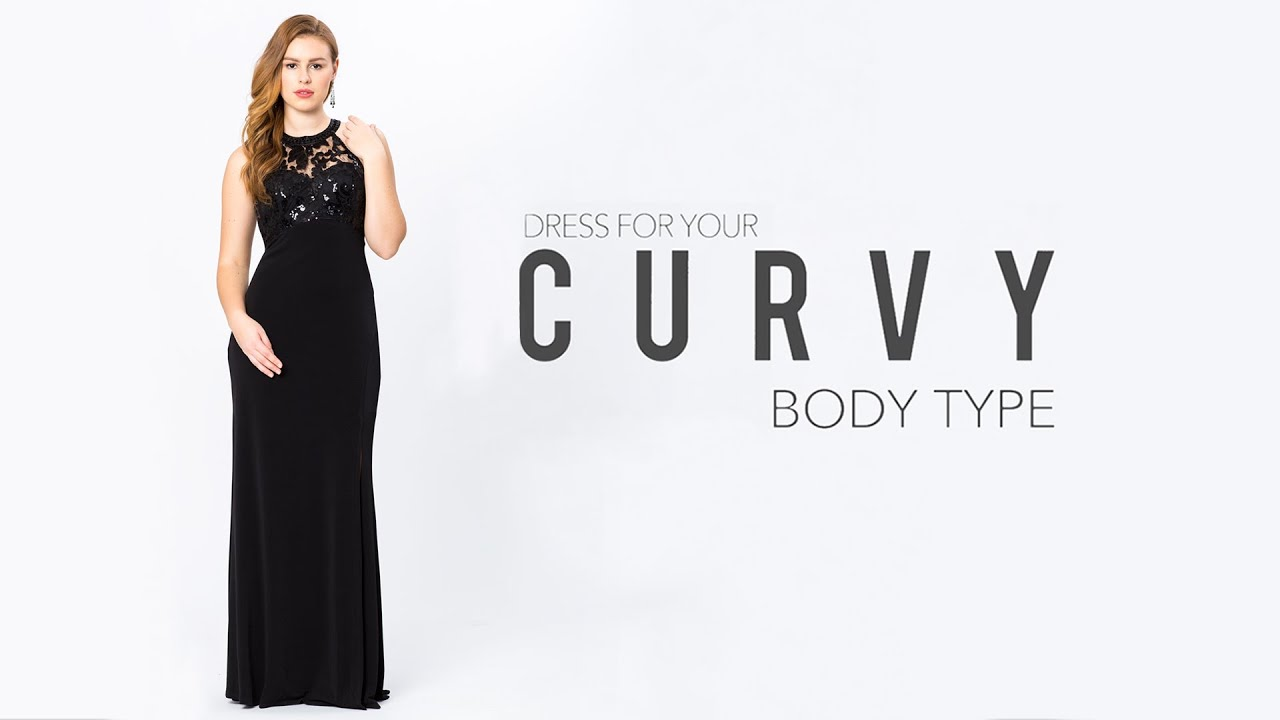 Prom Dresses for a Curvy Body Type - YouTube