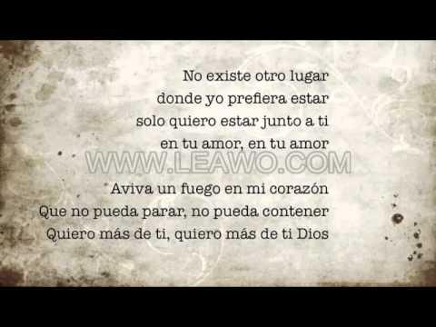 Set a fire (Spanish) includes lyrics