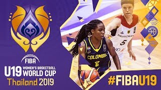 Germany v Colombia - Full Game - FIBA U19 Women's Basketball World Cup 2019