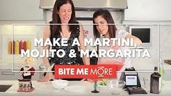 DRINK RECIPES- Easy Martinis, Mojitos & Margaritas