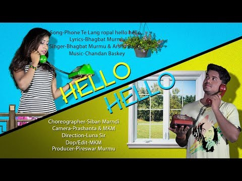 New Santali Promo Video//Hello Hello Hi Hi//Mangal & Urmila