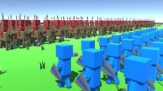 المعارك الاثريه: دعستهم كلهم! Ancient warfare