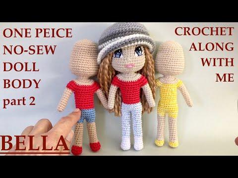 Nehir Doll New Version - Yeniden Nehir Bebek (amigurumi crochet doll)   360x480