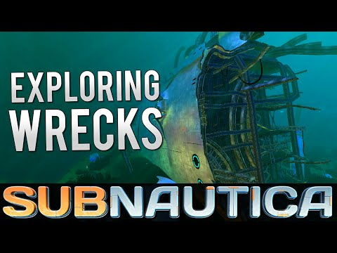 Subnautica - GET WRECKED! | Let's Play Subnautica! (Subnautica Gameplay)