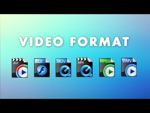 Video formats: what it is and which one to choose to export?