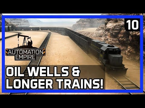 How To Get LONGER FREIGHT TRAINS! - Automation Empire Gameplay Ep 10 - Tutorial/Tips
