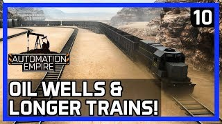 How To Get LONGER FREIGHT TRAINS - Automation Empire Gameplay Ep 10 - TutorialTips