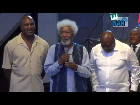 How Soyinka brokered peace between Tinubu and Evander Holyfield in Lagos