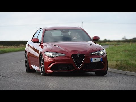 Best Compact Executive Car - Alfa Romeo Giulia Quadrifoglio