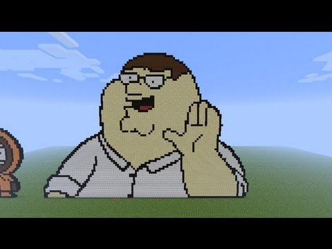 How To Build Peter Griffin In Minecraft