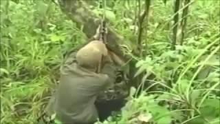 การใช้ชีวิตในป่า ล่าสัตว์ หาอาหาร ของนายพราน ชำนาญมาก hunting and cooking in the wild