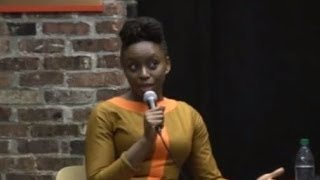 Chimamanda Ngozi Adichie: Tenement Talk from March 12, 2014