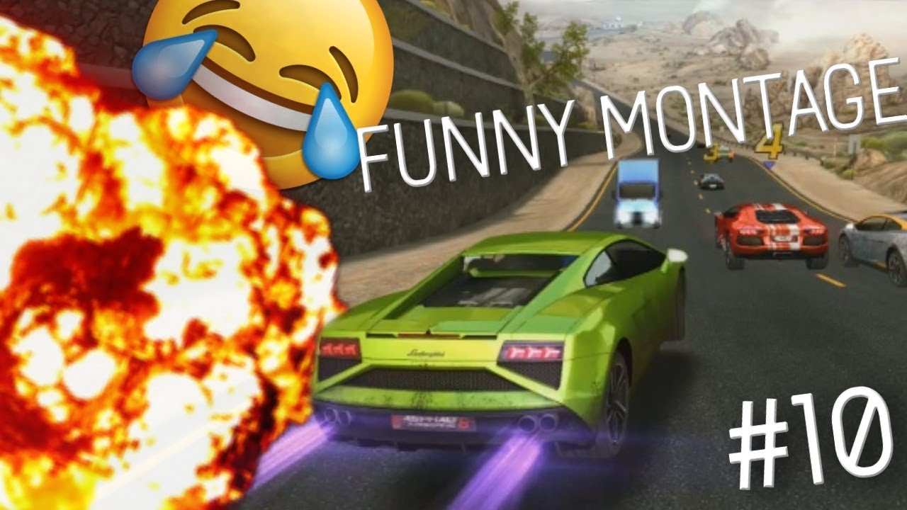 FUNNY ASPHALT 8 MONTAGE #10 (Funny Moments and Stunts)