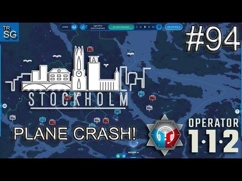 112 OPERATOR  SCENARIOS - STOCKHOLM, SWEDEN PLANE CRASH! #94 |