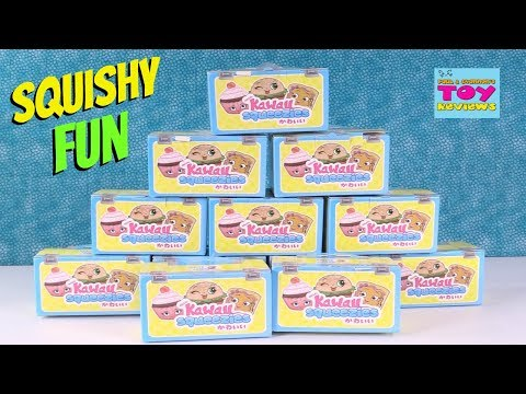 Kawaii Squeezies Blind Box Series 2 Toy Opening Squishy Review | PSToyReviews