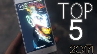 TOP 5 Best Free Android Apps | January 2017