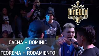 🇦🇷CACHA Y DOMINIC🇲🇽 vs 🇨🇱TEOREMA Y RODAMIENTO!! CUARTOS DE FINAL  KINGDOM INTERNACIONAL 2VS2