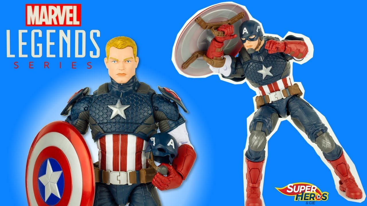 Marvel Review Legend Kids Detailed Captain Highly Figure Series Toy Youtube America Action UMSVpz