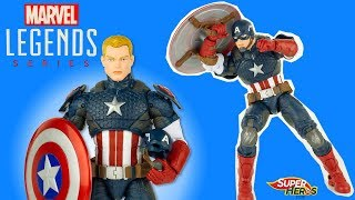 Captain America Marvel Legend Series Figurine Jouet Super Heros et Compagnie Toy Review Youtube Kids