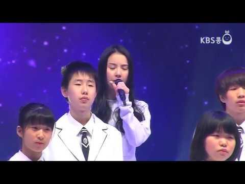 150215 GFRIEND (여자친구) - You Raise Me Up @ KBS Radio