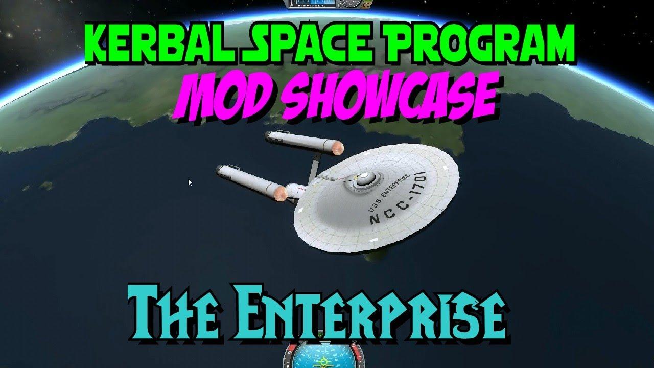 Kerbal Space Program - Mod Showcase - Enterprise From Star ...