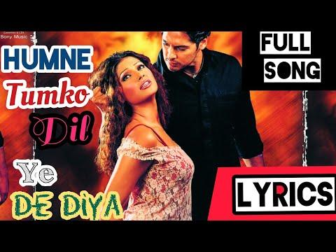 humne-tumko-dil-ye-de-diya-full-song-(-with-lyrics-)-gunnah-2002---its-lyrics-channel