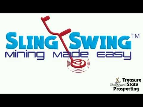 Universal Sling Swing Body Metal Detector Harness With Quick Detach Buckle - Mining Made Easy