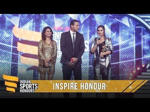 Sania Mirza   Inspire Honour   Indian Sports Honours