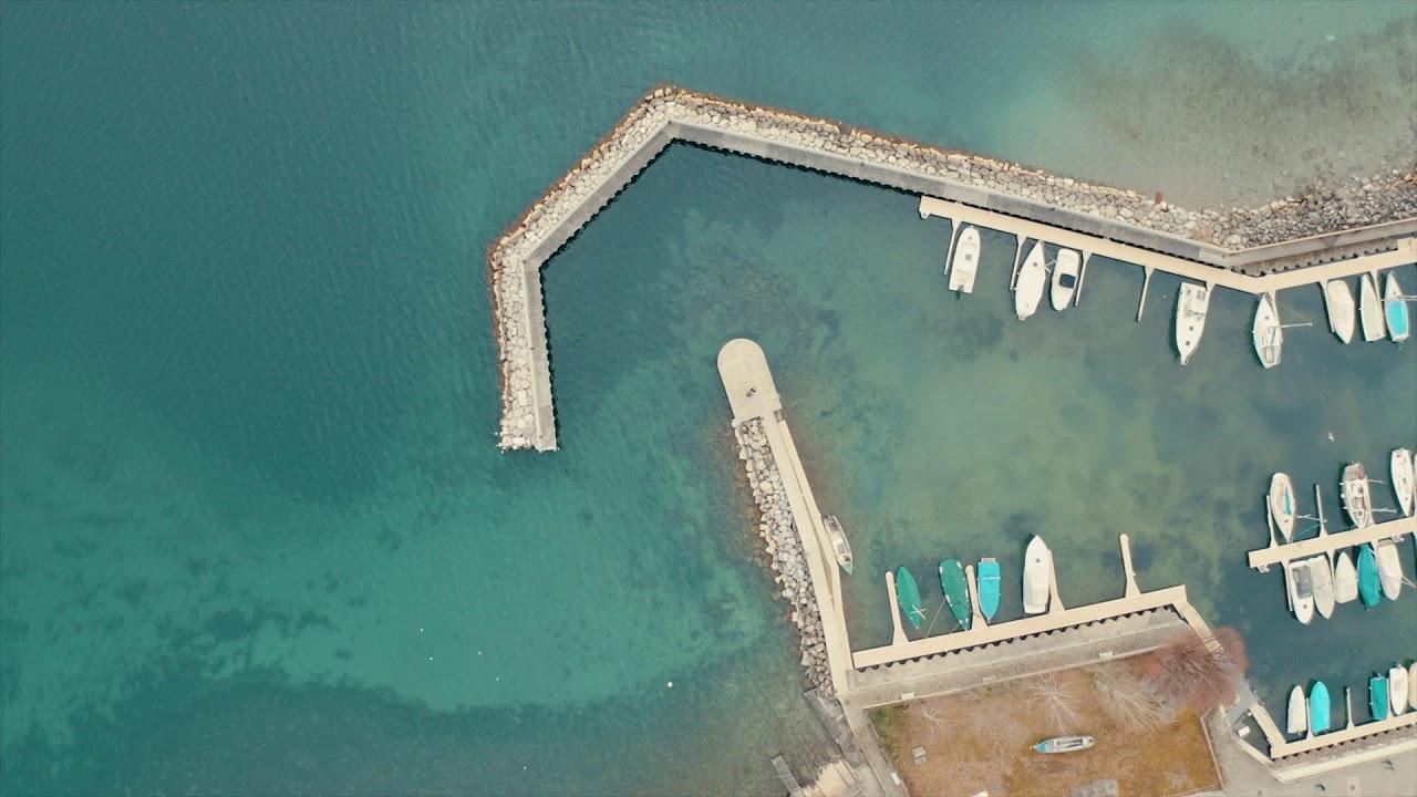 Lausanne vu d'en haut Tournage Drone Suisse