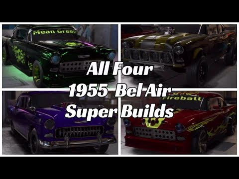 Need for Speed PayBack 1955 Bel Air Super Builds