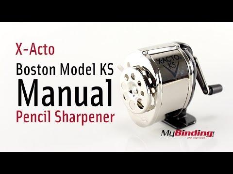 X-Acto Boston Model KS Manual Pencil Sharpener