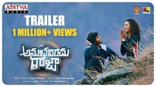 Life Anubavinchu Raja Trailer | Raviteja, Sravani Nikki, Shruti Shetty | Suresh Thirumur