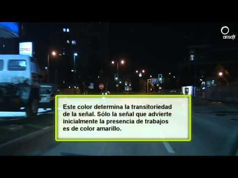 Señales de tránsito Chile. Señales Transitorias.