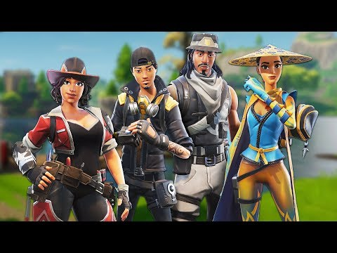 WORLD'S BEST FORTNITE SQUAD!! (Fornite Battle Royale)