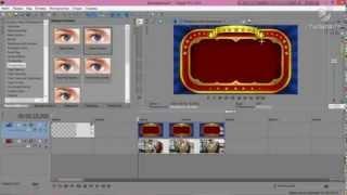 Как наложить анимационую рамку на видео в Sony Vegas