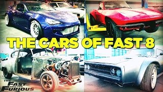 The Cars of Fast & Furious 8 [FAST8]