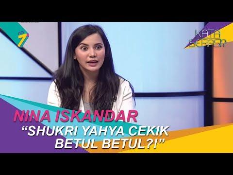 Shukri Yahya cekik Nina Iskandar betul betul ke dalam drama Andainya Takdir?! | Kata Serasi?