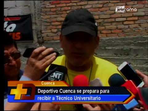 Deportivo Cuenca se prepara para recibir a Técnico Universitario
