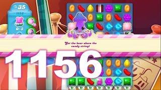 Candy Crush Soda Saga Level 1156 (No boosters)