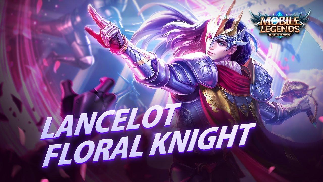 Lancelot New Skin Floral Knight