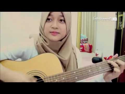 cewek cantik jilbab suaranya merdu | anugerah terindah yang pernah ku miliki