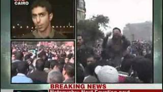 live video from cairo egypt 01 february 2011