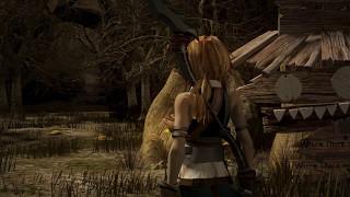 Final fantasy IX remake HD (fan art 2: Owls forest).